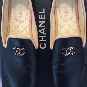 Chanel Mocassin-Loafers